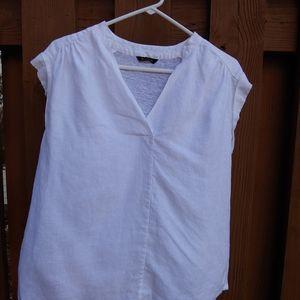 Massimo Dutti*white linen top